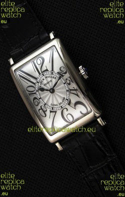 Franck Muller Long Island Ladies Replica Watch in Swiss Quartz Movement Black Strap