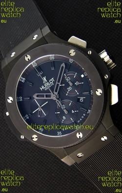 Hublot Big Bang All Black PVD Swiss Replica Watch : 1:1 Mirror Replica