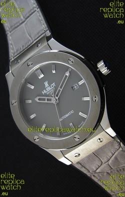 Hublot Classic Fusion Racing Grey Titanium Swiss Replica Watch - 1:1 Mirror Replica