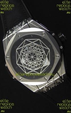 Hublot Big Bang Sang Bleu 45MM Stainless Steel Swiss Replica Watch