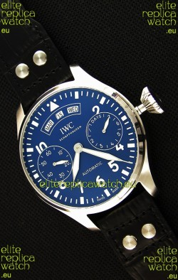 IWC Big Pilot Annual Calendar IW502702 Spitfire Blue Dial Swiss 1:1 Mirror Replica