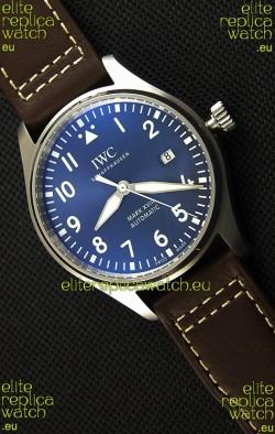IWC Pilot's MARK XVIII IW327010 Steel Blue Dial Le Petit Prince Swiss Replica Watch 1:1 Mirror Edition