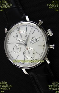 IWC Portofino Chronograph IW391007 White Dial 1:1 Mirror Replica Watch