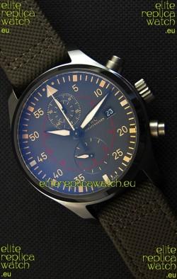 IWC Pilot's Watch Chronograph Top Gun Miramar IW389002 Ceramic Anthracite Dial 1:1 Mirror Replica