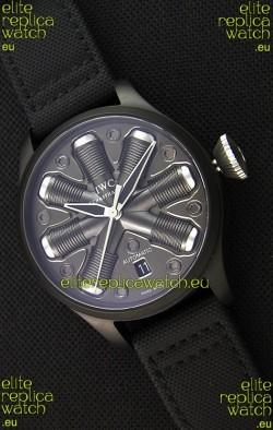 IWC Pilot Top Gun Concept Edition Replica Watch in PVD Coated Case 45.5MM