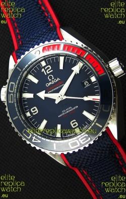 Omega Seamaster Planet Ocean Pyeong Chang 2018 Swiss Replica  1:1 Mirror Edition