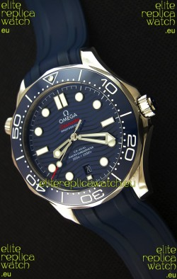 Omega Seamaster 300M Co-Axial Master Chronometer BLUE Swiss 1:1 Mirror Replica Watch