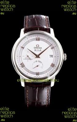 Omega De Ville Prestige Power Reserve 904L Steel 1:1 Mirror Swiss Watch White dial