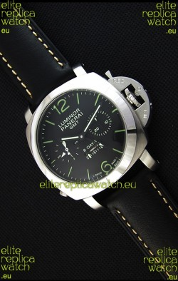 Panerai Luminor GMT 8 Days Power Reserve Japanese Replica Watch