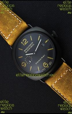 Panerai Radiomir Black Seal PAM292 Japanese Replica Watch in Black Dial
