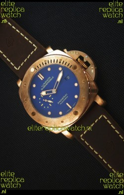 Panerai PAM617T Bronzo Replica Watch - Updated Ultimate Edition Version - Blue Dial