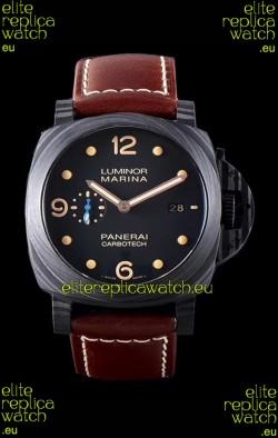 Panerai Luminor Marina PAM661 Carbotech 1:1 Mirror Replica Watch 2020 Improved Version