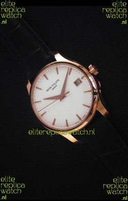 Patek Philippe #Ref 5227 Yellow Gold Watch in White Dial 1:1 Swiss Replica Watch