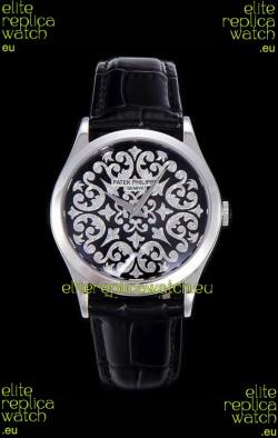 Patek Philippe 5088/100P Calatrava Stainless Steel Watch 1:1 Mirror Replica