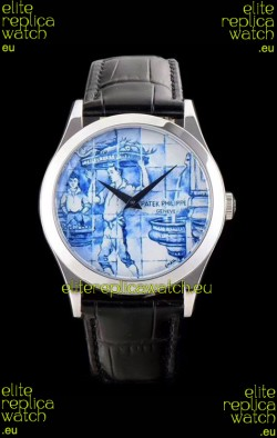 "Patek Philippe 5089G-061 ""The Porter"" Edition Swiss 1:1 Mirror Replica Watch"