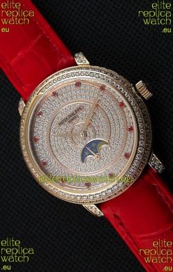 Patek Philippe Complications 4968/R Swiss Replica Rose Gold Case Watch