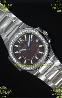 Patek Philippe Ladies Nautilus Stainless Steel Watch 36MM
