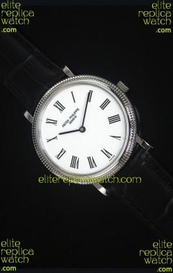 Patek Philippe 5120J Calatrava Mens Stainless Steel Watch 1:1 Mirror Replica