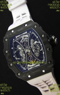 Richard Mille RM53-01 Pablo Mac Donough Black Carbon Case Swiss Replica Watch