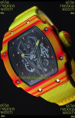 Richard Mille 27-03 Tourbillon Rafael Nadal Forged Carbon Swiss Replica Watch