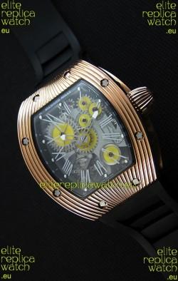 Richard Mille RM 018 Tourbillon Hommage A Boucheron Swiss Watch Yellow Gold Case