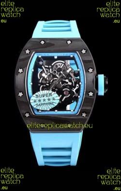 Richard Mille RM055 Blue Legend Carbon Casing Swiss Replica Watch