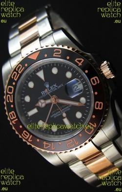 Rolex GMT Masters II 126711CHNR Everose Gold Oyster Steel Swiss Replica 1:1 Mirror Watch