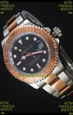 Rolex Yachtmaster REF#116623 Two Tone Cal.3135 Swiss 1:1 Ultimate 904L Steel Watch