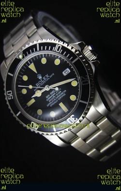 Rolex Sea Dweller Submariner 2000 Vintage Styled Japanese Movement Watch