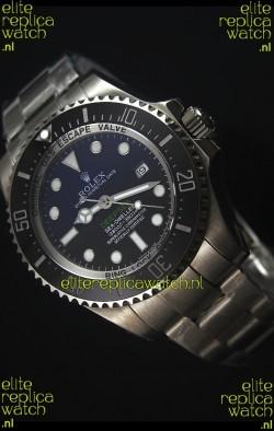 Rolex Sea-Dweller Deepsea Blue 116660 2017 Best Edition 1:1 Ultimate Mirror Swiss Watch
