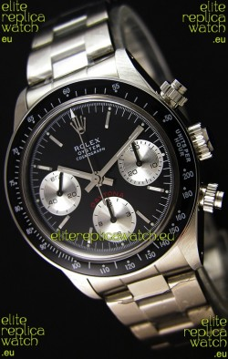 Rolex Daytona Vintage REF 6264 Swiss Replica Watch - 904L Steel Watch