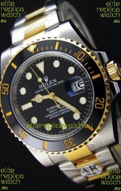 Rolex Submariner Date Ceramic Two Tone 116613 - Replica 1:1 Mirror - Ultimate 904L Steel Watch
