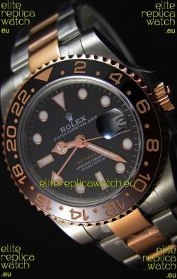 Rolex GMT Masters II 126711CHNR Two Tone Rose Gold Swiss Replica - Ultimate 904L Steel Watch