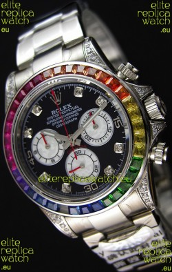 Rolex Cosmograph Daytona 116509 Stainless Steel 1:1 Mirror Cal.4130 Movement - Ultimate 904L Steel Watch