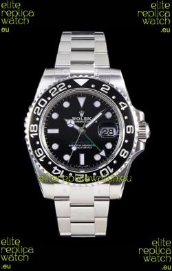 Rolex GMT Master II 116710LN Ceramic Bezel Cal.3186 Movement Swiss Replica - Ultimate 904L Steel Watch