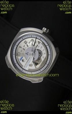 SevenFriday V02-01 Miyota 82S7 Movement 1:1 Edition White Dial