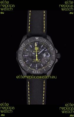 Tag Heuer Aquaracer Calibre 5 Titanium Carbon 41MM 1:1 Mirror Replica Watch