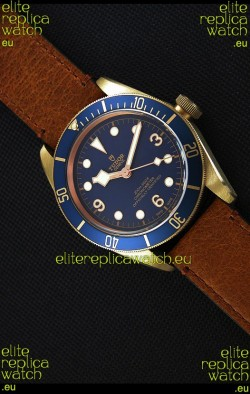Tudor Heritage Bronze Black Bay Blue Bucherer Limited Edition Swiss Watch 1:1 Mirror Replica