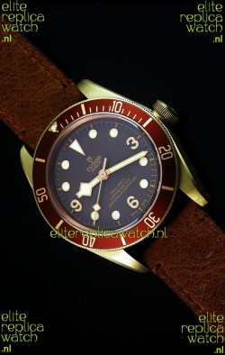 Tudor Heritage Bay Bronze Swiss Replica 1:1 Mirror Replica Edition with Two Straps