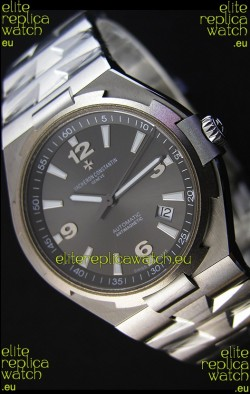 Vacheron Constantin Overseas Grey Dial Swiss Replica Watch