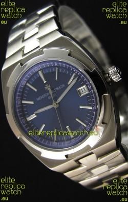 Vacheron Constantin Overseas Blue Dial Swiss Replica 1:1 Mirror Watch