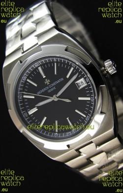 Vacheron Constantin Overseas Black Dial Swiss Replica 1:1 Mirror Watch