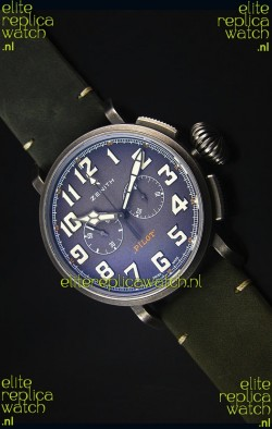 Zenith Pilot Heritage Edition Ton-Up 1:1 Mirror Swiss Replica Watch