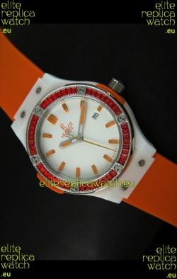 Hublot Big Bang Classic Fusion Japanese Quartz Watch - 38MM
