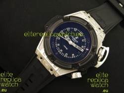 Hublot King Power Diver 4000m Swiss Replica Watch in Black