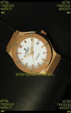 Hublot Classic Fusion 39MM Rose Gold Swiss Watch
