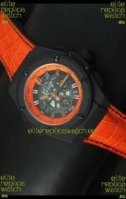 Hublot Big Bang Volcano Skeleton Swiss Quartz Watch 45MM