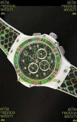 Hublot Big Bang BOA Bang Green Dial/Strap Watch 34MM