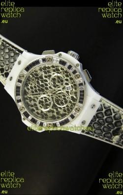 Hublot Big Bang Snow Leopard MARIA HOFL -RIESCH Edition 34MM Watch