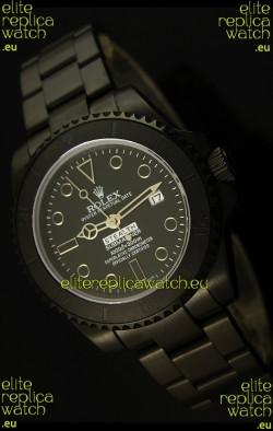 Rolex Submariner STEALTH MK IV Edition Swiss Replica Watch in PVD Strap